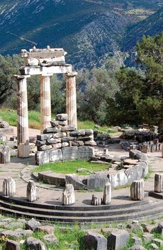 Explore the mystical ruins of Delphi on Day 3 of the Rick Steves Athens & the Heart of Greece tour.