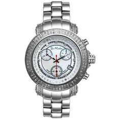 Joe Rodeo Womens Diamond Watch 1.25ct Rio White MOP