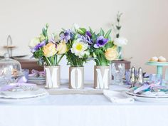 Vases for Mom in A Mother's Day Lunch to Celebrate Moms of All Generations from HGTV