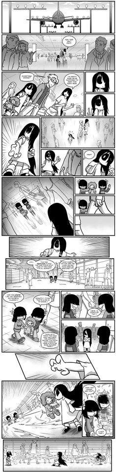 Erma- The Family Reunion Part 5 - image 1 Comics Story, Fun Comics, Anime Comics, Dark Comics, Short Comics, Erma Comic, Thomas Kincaid, Horror Themes, Sci Fi Novels
