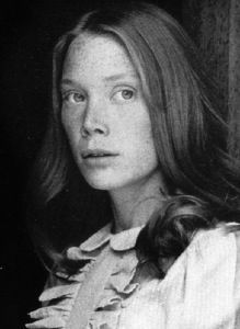 Sissy Spacek - Born: Mary Elizabeth Spacek, American Film Actress born on December 1949 in Quitman, Texas, USA Sissy Spacek, Diane Keaton, Jane Fonda, Mary Elizabeth, Oscar Verleihung, Best Actress Oscar, Martin Sheen, Loretta Lynn, Susan Sarandon