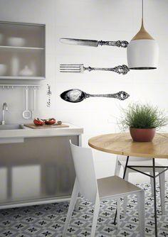 Serie 1900 es un pavimento, de la colección 1900, con apariencia de hidraulico perfecto para tu cocinas. | VIVES Azulejos y Gres S.A.