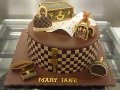 04b341f2e602 Louis vuitton birthday cake