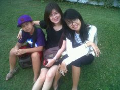 with gabrian and mikha, batu october 2012