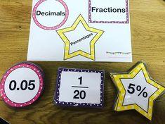 Place Value Matching Cards 1 – Irish Primary Teacher Fractions Decimals And Percentages, Maths Resources, Matching Cards, Place Values, Irish, Teacher, Professor, Irish Language, Teachers