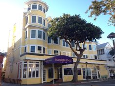 Avalon, Catalina. Glenmore Plaza Hotel.  Our accommodations on Catalina Island.  Enjoyed our stay here. ~slj~