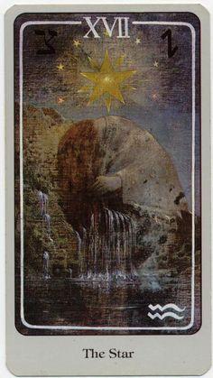 The Star - Haindl Tarot (viai-read-fantasy)