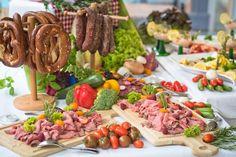 Kärntner Bauernbuffet mit Kärntner Spezialiäten   www.almrausch.co.at