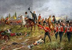 The Battle of Waterloo which ended the twenty-three years' war of the first French Revolution. It was a period of violence, of tumult, of unrestingly destructive energy-a period throughout which the wealth of nations was scattered like sand, and the blood of nations lavished like water. The Battle of Waterloo quelled Napoleon Bonaparte whose genius and ambition had so long disturbed and desolated the world, deserves to be regarded by us as one of the greatest victories.