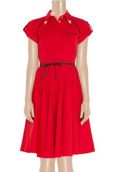 red dress   radness #rockthislook