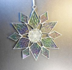 Star. Snowflake  With A Snowflake Pattern In The by jacquiesummer, $22.00