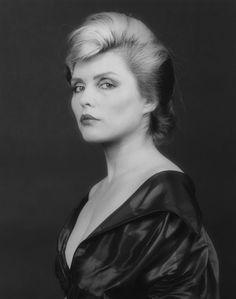 Deborah Harry, 1982 Gelatin silver print  photographed by Robert Mapplethorpe