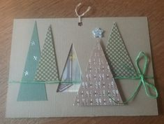 Christmas Ideas, Christmas Crafts, New Things To Try, I Card, Calendar, Card Making, Tags, Holiday Decor, Xmas