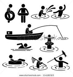 Extreme Sports Icon Set Ilustraciones vectoriales en stock: 112422428 : Shutterstock