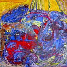 Artwork >> Jürgen Grafe >> WORK #artworks, #masterpiece, #oiloncanvas, #bright, #colorful, #work, #masterpiece