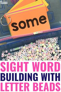8 Engaging Word Building Activities for Students to Practice Sight Words Sight Word Sentences, Sight Word Flashcards, Teaching Sight Words, Sight Word Activities, Phonics Activities, Free Activities, Reading Fluency, Reading Intervention, Teaching Reading