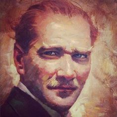 Turkey History, Turkish Army, My Idol, Beautiful People, Painting, Fictional Characters, Twitter, Painting Art, Paint