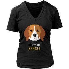 I love my Beagle Dogs T-shirt