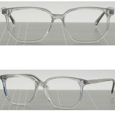 Square Men's Women's Plastic Frames Prescription Glasses Sunglasses Translucent #Unbranded