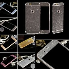 NEW Sparkling Rhinestone Deco Phone 9 Colors Bling Diamond Sticker Film For Apple iPhone 5 5S SE Full Body Glitter Sticker #>=#>=#>=#>=#> Click on the pin to check out discount price, color, size, shipping, etc. Save and like it!
