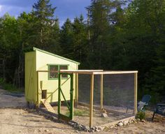Downeast Thunder Farm Chicken Coop Plans $Free$