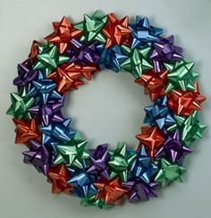 Quickest Ever Bow Wreath