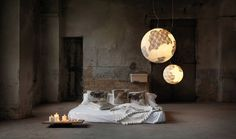 ululi ulula Dreaming of Far Away Places: Fascinating Earth Globe Suspension Lamp