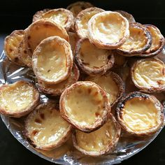 Custard tarts in the studio canteen!