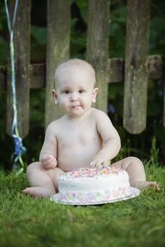 Cake smash. First birthday