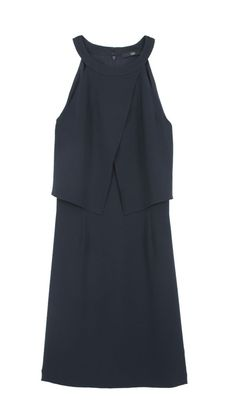 Tibi - Bibelot Crepe Halter Dress