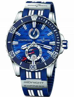 Часы Ulysse Nardin Midnight Express Maxi Marine Diver Steel