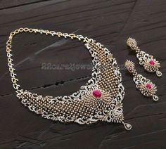 Exclusive Diamond Necklace Hangings - Jewellery Designs