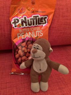 The #breakfast of champions. This is a breakfast #food, right? #peanuts #toffee #candy #snack #sweet #buttertoffee #pnuttles