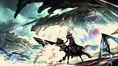 Knight with bow weaphon, artwork, fantasy art, anime, warrior hd wallpaper Fantasy Life, Fantasy Art, Kids Mirrors, Halloween Supplies, Futuristic, Hd Wallpaper, Illustrators, Knight, Art Drawings