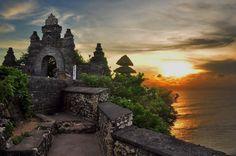 """""""Sunset @Uluwatu Temple"""" by Alys87"""