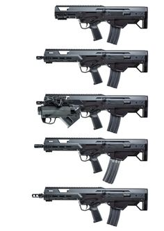 The MSBS is an improved relative of the Remington ACR/Magpul Masada.