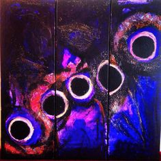 My new work the five solar eclipses from 80 years back.