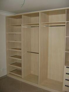 Wardrobe Design Bedroom, Master Bedroom Closet, Bedroom Wardrobe, Wardrobe Closet, Wardrobe Storage, Wardrobes For Bedrooms, White Wardrobe, Small Wardrobe, Bedroom Cupboard Designs