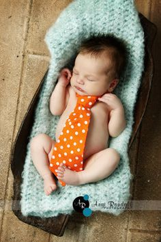 Adorable for newborn pics of a baby boy!