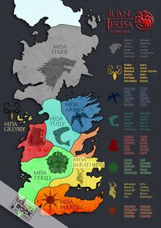 Game Of Thrones History, Arte Game Of Thrones, Game Of Thrones Westeros, Westeros Map, Game Of Thrones Poster, Game Of Thrones Party, Game Of Thrones Houses, Game Of Thrones Drawings, Game Of Thrones Illustrations