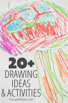 20+ of our favourite drawing ideas and activities for kids.
