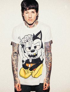 Oliver Sykes....so gorgeous!