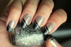 Polished Polyglot: Giardino d'inverno: nail art technique
