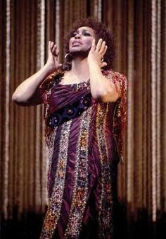 Leontyne Price As Aida in 1984, her final season at the Met. | opera