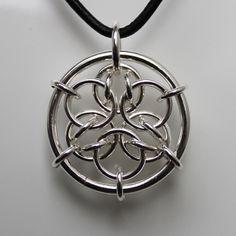 cool mandala based pendant