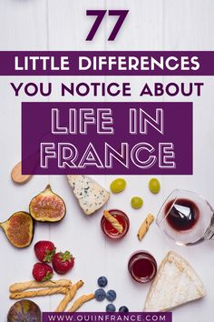 When you move to France, you'll notice little differences about French culture and the French way of life that will either make you smile, drive you mad with frustration, make you question why you moved in the first place, and ultimately let you fall in love with France a little at a time. Let's get into it with my list of 77 little differences about life in France. #frenchculture #france #cultureshock #expat #livingabroad