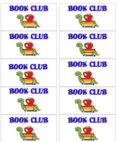 Book clubs can improve your students' reading fluency.  Free printables