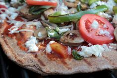 Whole Wheat Grilled Pizza