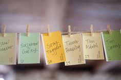 32 paint chip ideas. photo pictured would be great for place cards or classroom stuff.
