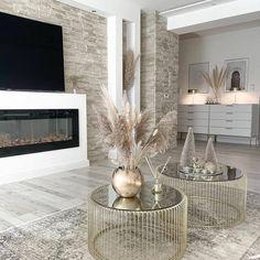 Decor Home Living Room, Living Room Designs, Modern Living Room Design, Beige Living Rooms, Grey Home Decor, Elegant Home Decor, Cozy Living Rooms, Modern Room, Living Room Inspiration